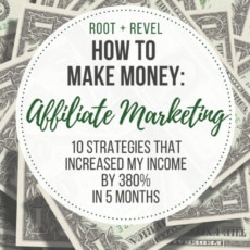 Monetizing a blog or online business with affiliate marketing? Learn how I increased my affiliate revenue by 380% in just 5 months this year (earning $7,079 last month), and how you, too, can start boosting your affiliate income TODAY with these 9 strategies that work! (Beginners welcome!)