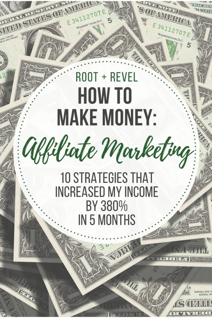 Affiliate Marketing for Bloggers: 10 Strategies to Increase Your Income Monetizing an online business with affiliate marketing? In this guide to affiliate marketing for bloggers, you'll learn how I increased my affiliate marketing revenue by 380% in just 5 months (earning $7,079 last month), and how you, too, can increase your affiliate marketing income TODAY with these 10 strategies that work! (Beginners welcome!)