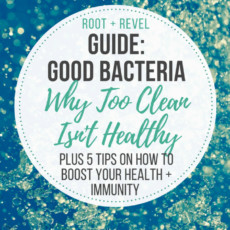 Think all bacteria is bad? Think again! In this Guide to Good Bacteria, we share the dangers of oversanitation and sterility and how this can lead to many serious diseases that we see plaguing our world. Find out five tips for how to boost your health and immunity by increasing your exposure to good bacteria.
