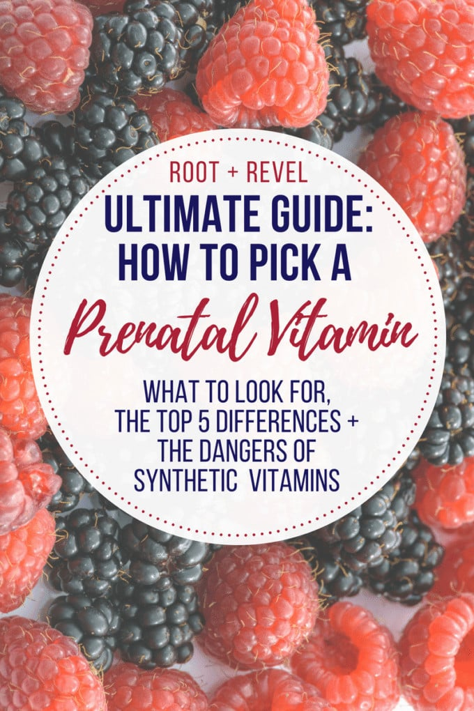 If you're trying to pick a prenatal vitamin (or any multivitamin for that matter!), this comprehensive guide is a must read. We reveal the top 5 differentiators to look for that make a huge impact in the quality of prenatals, plus give a detailed breakdown on the dangers of synthetic vitamins and how to distinguish natural plant-based sources from lab-created ones.