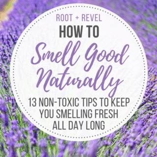 13 Ways to Smell Good Naturally