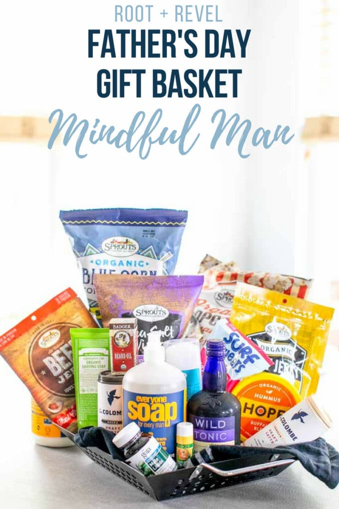 This Father's Day, gift the mindful man in your life a thoughtful, fun, creative (and still affordable!) DIY gift basket of delicious, healthy foods and natural, non-toxic personal care products--he'll love the personalized touch! Read on to get inspired to create the perfect present with our healthy and unique Father's Day gift ideas and recommendations, whether your gifting this as a wife, daughter, girlfriend, or from the kids.