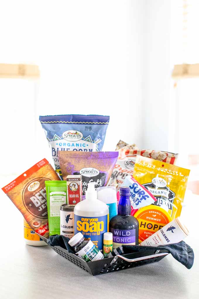 Father's Day Gift ideas: cheap, affordable, personalized, unique + creative gift basket