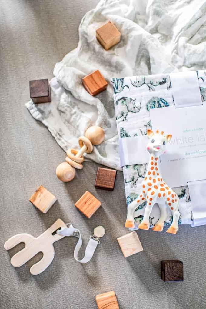 Looking for Natural Baby Products? This Non-Toxic Baby Registry Checklist is chockfull of ideas and tips for the best eco-friendly, organic baby products, from cribs and nursery furniture to skincare and bath products to strollers, car seats, and bottles. All the must haves for new moms so you'll have everything you need, all the essentials, plus peace of mind knowing your baby is safe!
