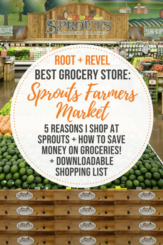 Sprouts Farmers Market is the go-to grocery store if you're looking for healthy, high quality and sustainably sourced products--all at affordable prices! In this post, you'll learn how to save even more money when you shop, what makes Sprouts stand out against their competitors and how your dollars contribute to giving back to amazing causes. Plus, download our free 25 Best Things to Buy at Sprouts grocery store list!