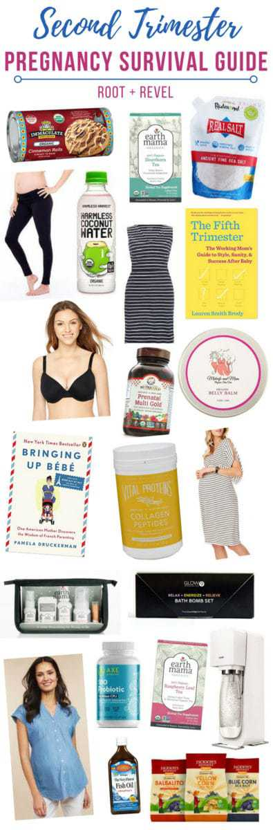 Calling all my fellow natural mamas-to-be! This Second Trimester Pregnancy Survival Guide will provide you with tips, tricks and product recommendations (from books and workouts to style and fashion must-haves, and advice on what to eat during the second trimester to avoid excessive weight gain) to help you get through this exciting, and (let's face it) symptom-heavy, time.