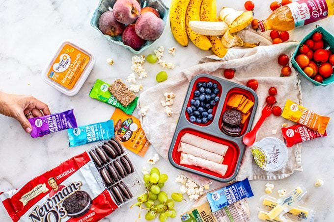 Healthy lunchbox ideas for kids using real foods, all without overdosing on sugar or junk food.