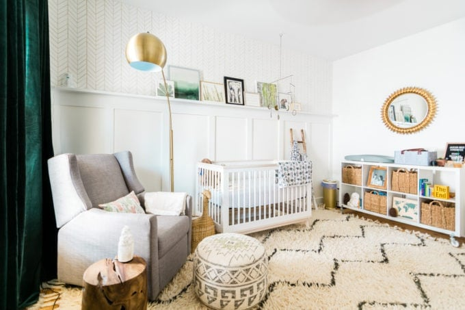 Baby Nursery: ideas, neutral, natural, boy, woodland, DIY, decor, modern