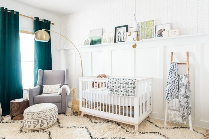 Natural Baby Nursery Design Reveal