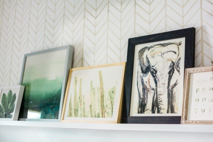 Baby Nursery: ideas, art, accent wall, neutral, natural, boy, decor, elephant