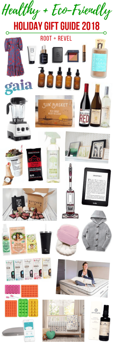 Looking for healthy yet fun holiday gift ideas for your friends and family? We've got 25 creative yet practical recommendations in this 2018 holiday gift guide! Whether you're shopping for the green goddess, conscientious cook, domestic dame or natural mama, or if you simply need some healthy stocking stuffers ideas, you'll be sure to find something new and inspiring in this list!