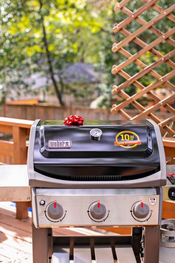 Weber Spirit II 3-Burner Gas Grill, Home Depot, Giveaway, Gift Giving, Holiday Season, Grilling, BBQ, best grill