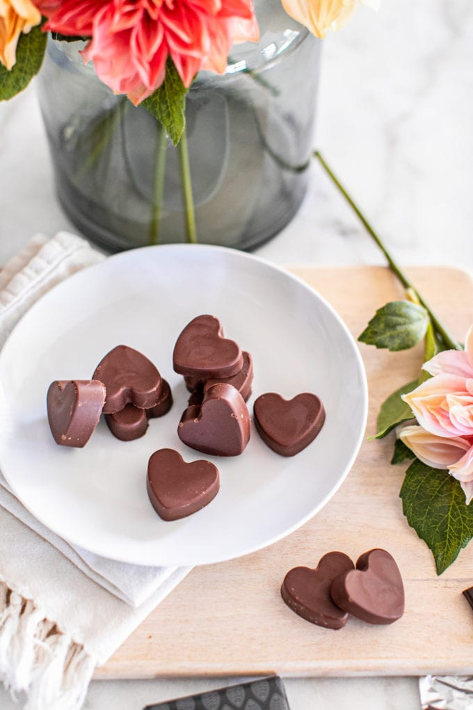 Mother's Day Healthy Recipe Ideas: Chocolate Peanut Butter Fat Bombs