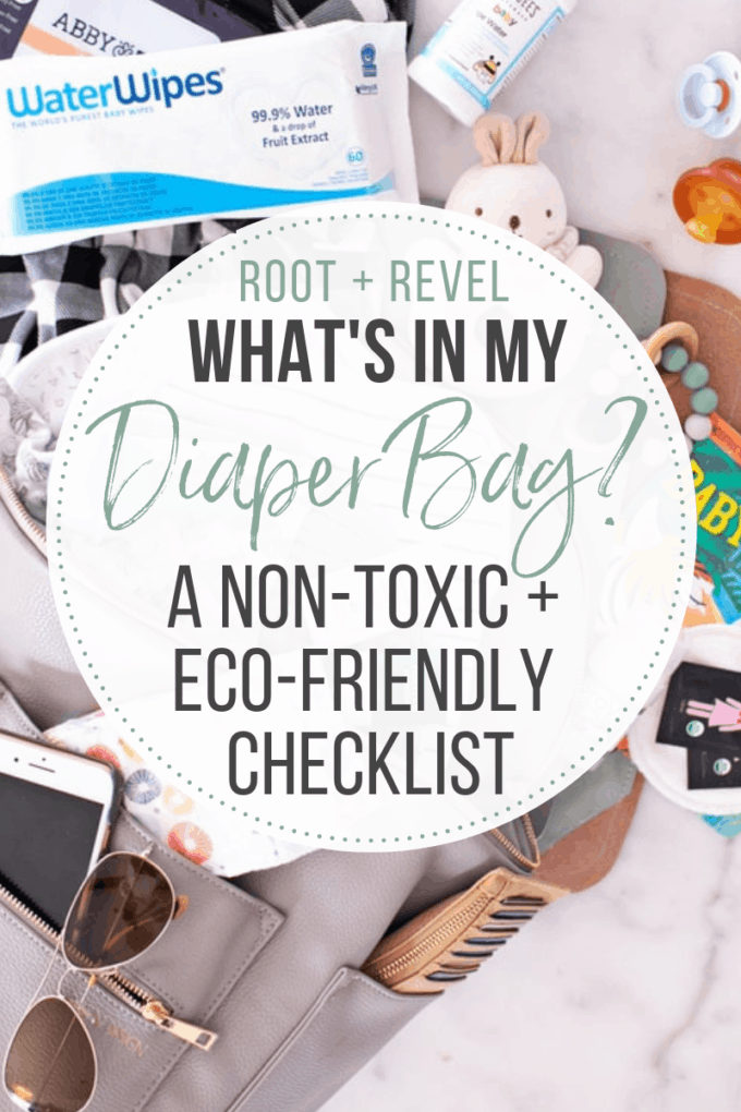 What do you need to think about when packing a diaper backpack? In this post, we share a checklist of our diaper bag essentials including our favorite eco-friendly diaper brands, necessities for nursing on the go and the best non-toxic baby care products like diaper creams, wipes and burp cloths.