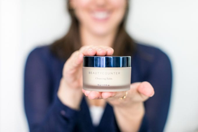 The Best Natural Acne Products + Skincare Treatments: Cleansers. Beautycounter's Cleansing Balm.
