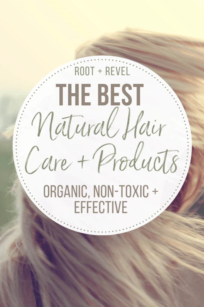 Looking for the best natural hair care products, tips and regimens that actually work? Whether your hair is straight or curly, dry or frizzy, color-treated or not, it's time to toss your toxic shampoos, conditioners, and styling products for these tried and tested green + organic hair care alternatives!