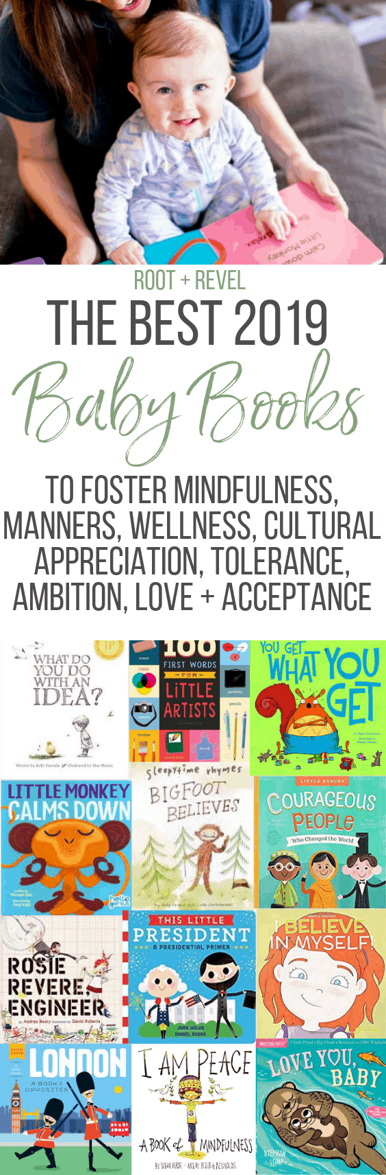 From beautiful board books and baby book subscriptions to indestructible books that babies can't ruin, this roundup of the best baby books to add to your library covers important wellness and cultural topics like mindfulness, manners, wellness, self-worth, historical figures, and travel, along with more classic themes like animal sounds, bedtime and colors. Whether you're looking for books for infants and babies under one or for toddlers, or for boys or for girls, this is a must-have collection of unique books that parents and children alike are bound to love.