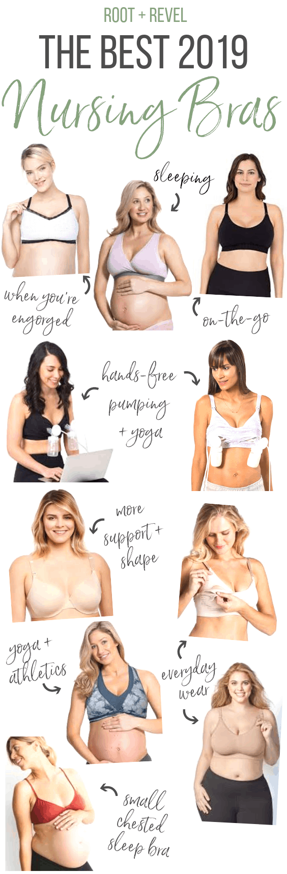 Are you breastfeeding? This guide to the best nursing bras is for you, mama! We've rounded up the best nursing clothing (from bras, tops, dresses and pajama sets) for nursing moms in 2019. Large breasts, small chests, these nursing products have an eco-friendly twist for natural mamas! Exclusive discount codes included to save you money!
