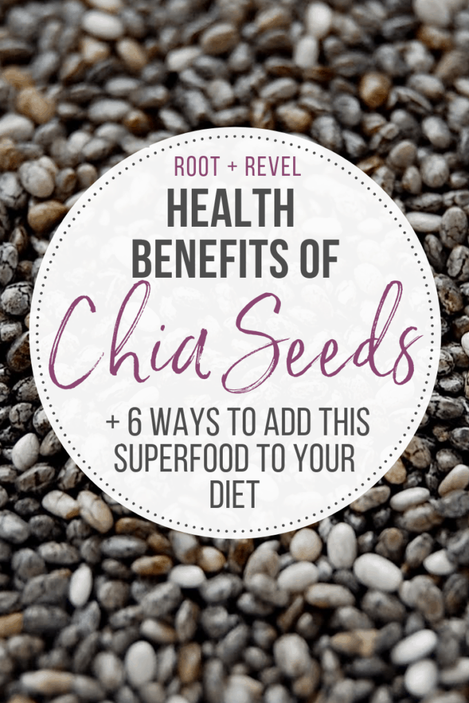 What are chia seeds and what makes them a 'superfood'? Find out the top five health benefits of chia seeds, and the side effects of chia seeds, plus six tips for how to eat more chia seeds, including our favorite chia seed recipes!