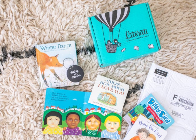 Literati Books: Book Club for babies + children