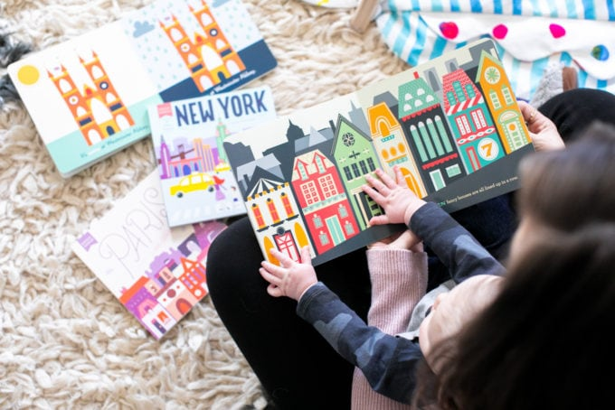 The Best Baby Books: Hello, World Series: London, Paris, New York + San Francisco by Ashley Evanson
