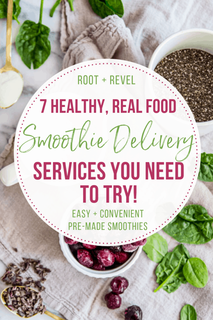 Too busy for breakfast? We've rounded up the seven best healthy smoothie delivery companies that make for an easy, convenient, nutrient-dense and nourishing way to start your day, just blend and go in 60 seconds--no prep required! All smoothies are made from real food with no added sugars, additives or fillers. Options for subscription boxes, weight loss, protein and workout recovery, for kids, meal replacements, detoxes, and cleanses.