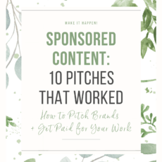 Sponsored Content Pitches That Worked E-Book