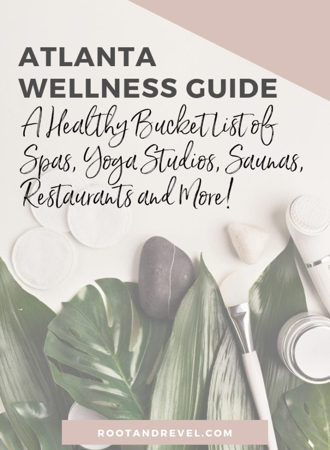 In this Atlanta Wellness Guide, we've rounded up the best in green and holistic spas, doctors, yoga studios, restaurants and more to bring you a healthy Atlanta bucket list. Whether you're a local or visiting, this is your ultimate Atlanta Things to Do Checklist for wellness junkies!