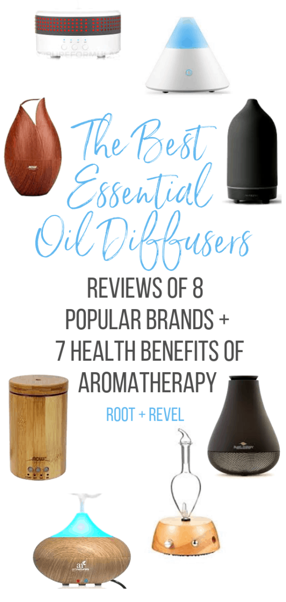 We reviewed eight popular essential oil diffusers and share our favorites so you can make the swap to natural, non-toxic air fresheners, receive the aromatherapy health benefits, and enjoy the beauty of these safe fragrances in your home. We also share the best essential oils to use for different health ailments (say goodbye to stress, toxins, headaches, and more!).