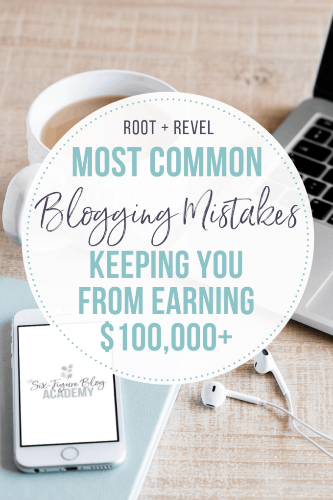 Started a blog in hopes of earning enough to quit your day job, or at least to have a flourishing side hustle... only to work your butt off for pennies? In this post we share the most common blogging mistakes to avoid that leave money on the table and keeps you from earning the income that IS possible through your blog! We'll show you how with our tips.