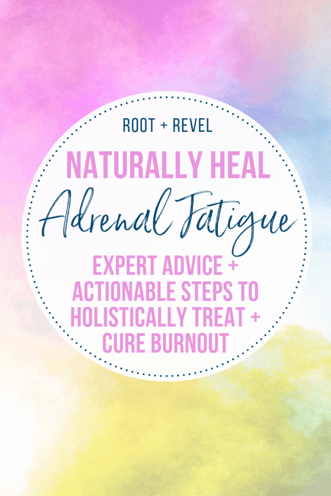 Is adrenal fatigue real? We share the symptoms, causes, and natural adrenal fatigue treatments in this post. You CAN heal with a holistic approach--we'll show you how!