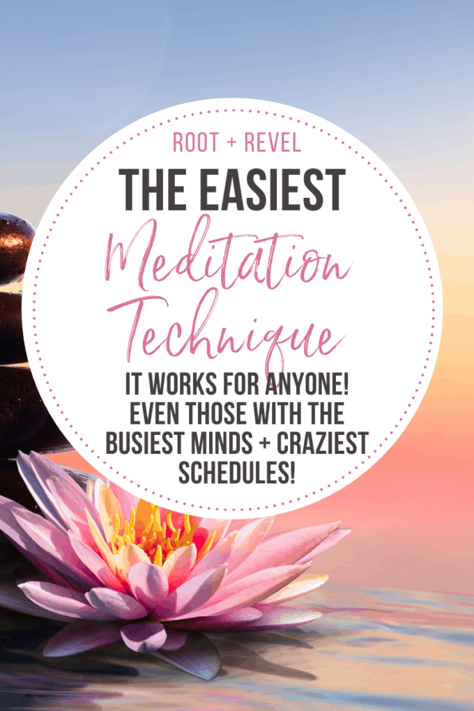 """Heard about the amazing benefits of meditation but don't think you're the """"meditation type""""? Think again! There's an easy, effective technique that works for anyone--even those with the busiest minds and schedules! Increase your mindfulness, reduce stress, enhance your spiritual connection, and improve your overall health and wellness with a simple meditation practice--we'll show you how!"""