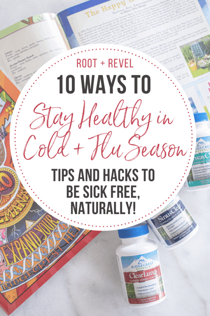 Did you know it actually IS possible to stay healthy during cold and flu season? With a mix of natural remedies, supplements, self-care, handy devices, and simple yet smart practices, we've got plenty of tips and hacks to keep you vibrant and strong instead of sick and miserable!