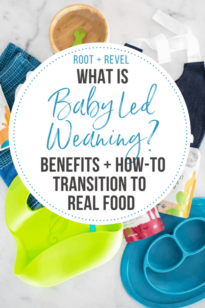 What in the world is baby led weaning (BLW)? If you're wondering when and how to transition your baby to starting their first foods, the answer is probably different than you think! In this beginner's guide we share the benefits of baby led weaning, give food recommendations, share a list of products and tools, along with tons of helpful tips and actionable advice.