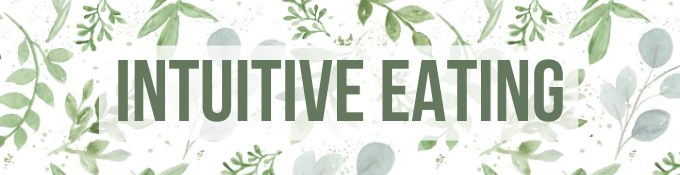 Intuitive Eating Header