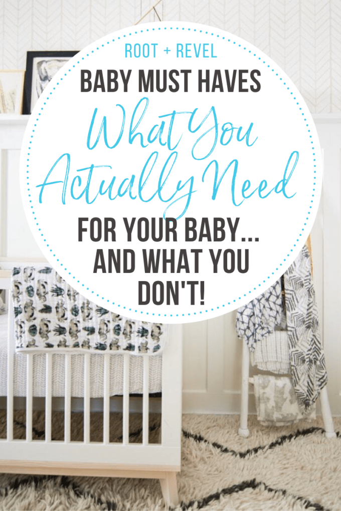 What You Actually Need for Your Baby