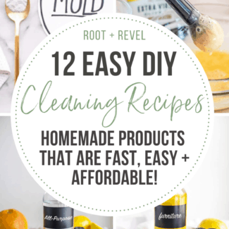 12 Easy DIY Cleaning Recipes