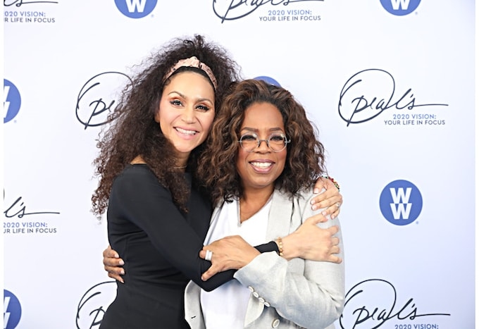 Dr. Cleopatra and Oprah
