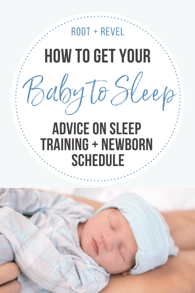 Advice and tips on how to get your baby to sleep.