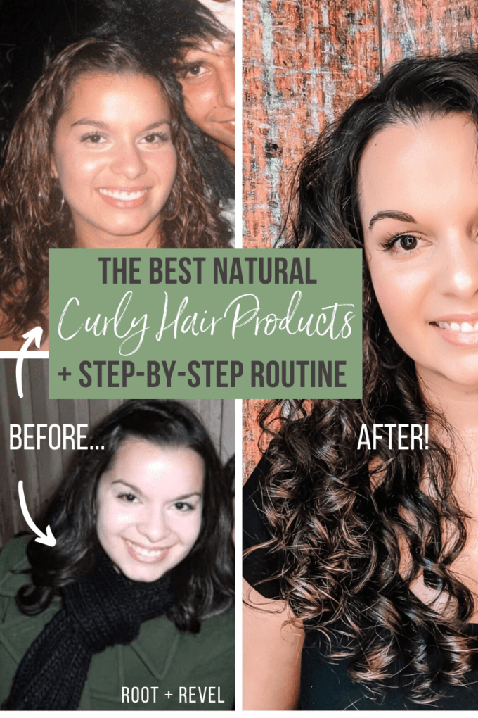 The Best Natural Curly Hair Products and Before and After Photos!