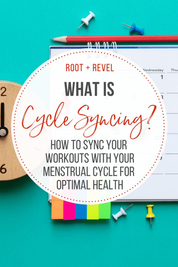 What is cycle syncing?
