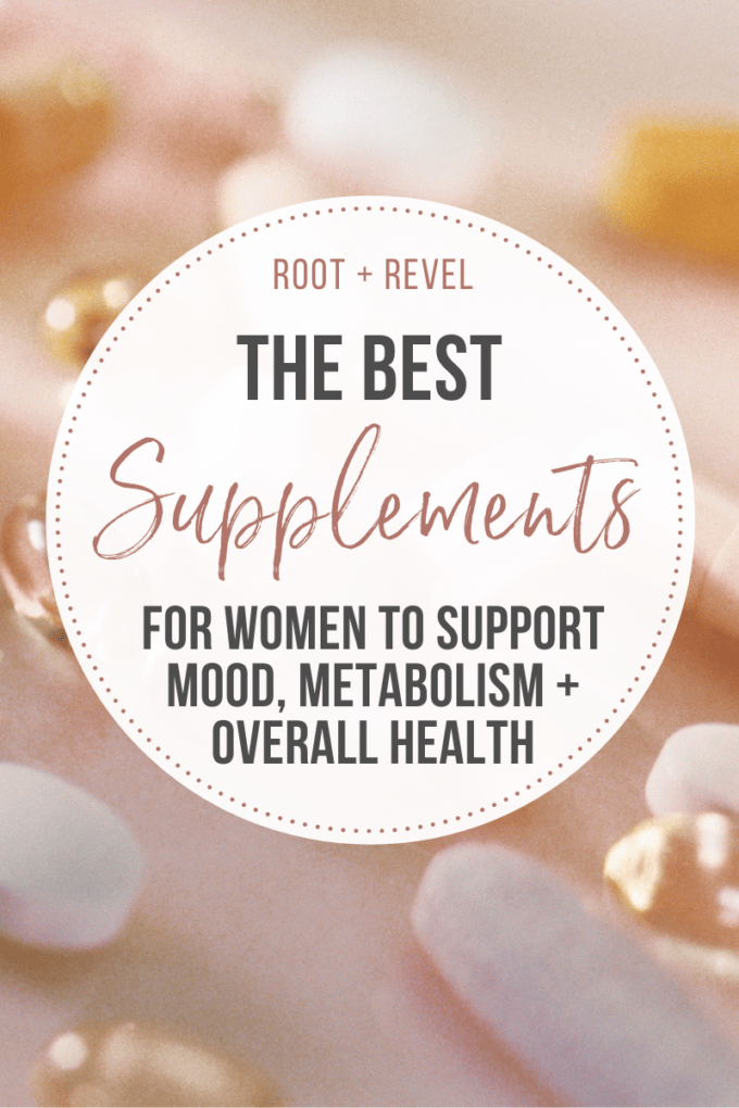 The Best Supplements for Women