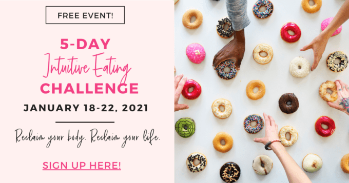 Intuitive Eating Challenge