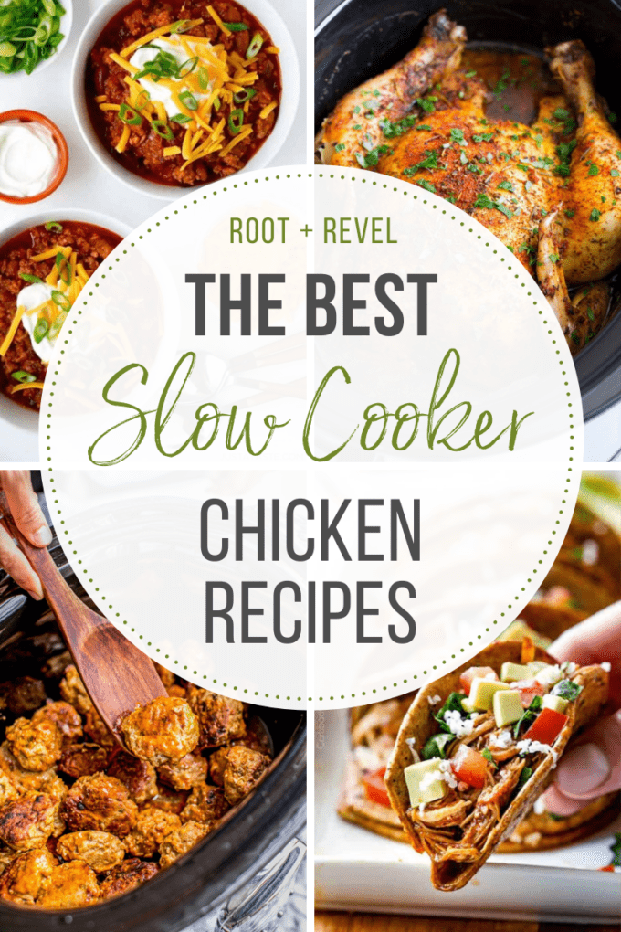 The best slow cooker chicken recipes